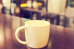 Vintage de la taza de café fotografía de archivo