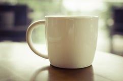 Vintage de la taza de café fotografía de archivo libre de regalías