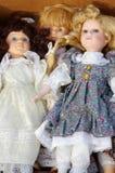 Vintage de las muñecas Fotografía de archivo libre de regalías