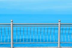 Vintage de las vacaciones de las vacaciones de verano de la 'promenade' del mar Imágenes de archivo libres de regalías