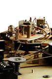 Vintage 2 de mécanisme de magnétophone de bobine Photos stock