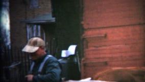 (vintage de 8m m) granjero 1952 de Iowa Fixing Fences almacen de video