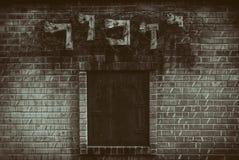Vintage de Michigan del cementerio de los trabajadores conmemorativos del holocausto Fotografía de archivo