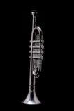 Vintage de plata Toy Trumpet Fotografía de archivo libre de regalías