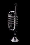 Vintage de plata Toy Trumpet Imagen de archivo