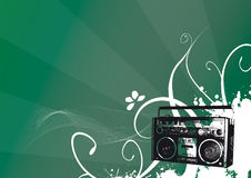 Vintage de rádio Imagem de Stock