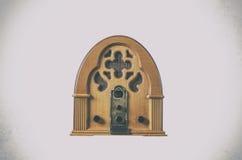 Vintage de rádio do jogador velho Fotografia de Stock