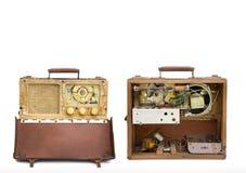 Vintage de radio Imagen de archivo libre de regalías