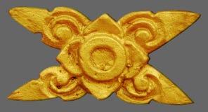 Vintage de stuc d'ornement floral Images stock