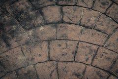 Vintage de texture de plancher de brique Photographie stock libre de droits