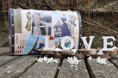 Vintage de valise Photo stock