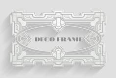 Vintage Deco Frame Background Royalty Free Stock Images