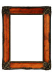 Vintage decorated frame in the style of Art Nouveau Royalty Free Stock Images