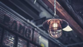 Vintage Decorating Ceiling Light Photo royalty free stock photos