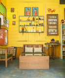 Vintage decoration of cafe at Chaing Khan. Stock Image