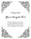 Vintage decoration frame Royalty Free Stock Photography
