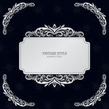 Vintage Decorations Elements and Frames Vector illustration eps10.  Stock Photography