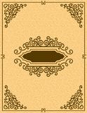 Vintage decorative background Royalty Free Stock Image