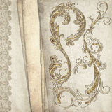 Vintage decorative background Stock Images