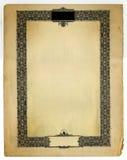 Vintage Decorative border Design stock photos