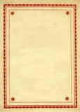 Vintage Decorative border Design royalty free stock photos