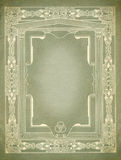 Vintage Decorative border Design. With clear area to add your own text Royalty Free Stock Photos