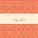 Vintage decorative card Royalty Free Stock Photography
