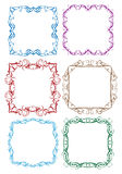 Vintage decorative design border Stock Image