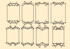 Vintage decorative design border Royalty Free Stock Photos