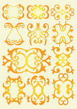 Vintage decorative design elements Royalty Free Stock Photography