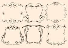 Vintage decorative design elements Royalty Free Stock Image