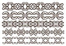 Vintage decorative design elements Stock Photography