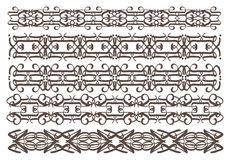 Vintage decorative design elements. A set of Vector vintage decorative design elements illustration for multi-uses Royalty Free Stock Photography