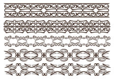 Vintage decorative design elements. A set of Vector vintage decorative design elements illustration for multi-uses Stock Photos