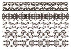 Vintage decorative design elements Stock Photos