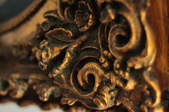 Vintage decorative element on photo frame Stock Photo