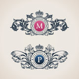 Vintage Decorative Elements Flourishes Calligraphic Ornament Royalty Free Stock Image