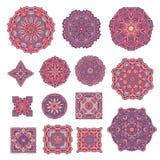 Vintage Decorative Elements. Oriental Pattern, Vector Illustration. Stock Photos