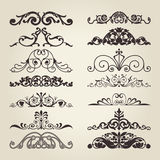 Vintage decorative elements Stock Photos