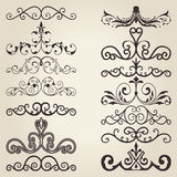 Vintage decorative elements Stock Photo