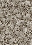 Vintage decorative floral background Royalty Free Stock Images