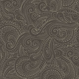 Vintage decorative floral ornamental seamless pattern Royalty Free Stock Image
