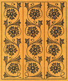 Vintage Decorative Floral Pattern royalty free stock images
