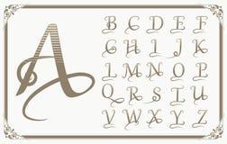Vintage Decorative Font Stock Vector Illustration Of Element