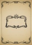 Vintage decorative frame Stock Photography