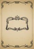 Vintage decorative frame Stock Photography
