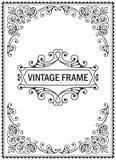 Vintage decorative frame Stock Photos