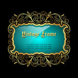 Vintage decorative frame Royalty Free Stock Photos