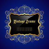 Vintage decorative frame Royalty Free Stock Image