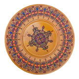Vintage decorative hand made plate for sale Royalty Free Stock Photo